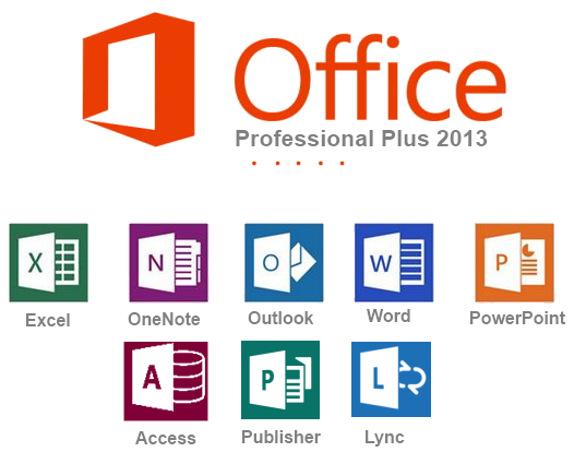 Microsoft Office 2013 Professional Plus all apps