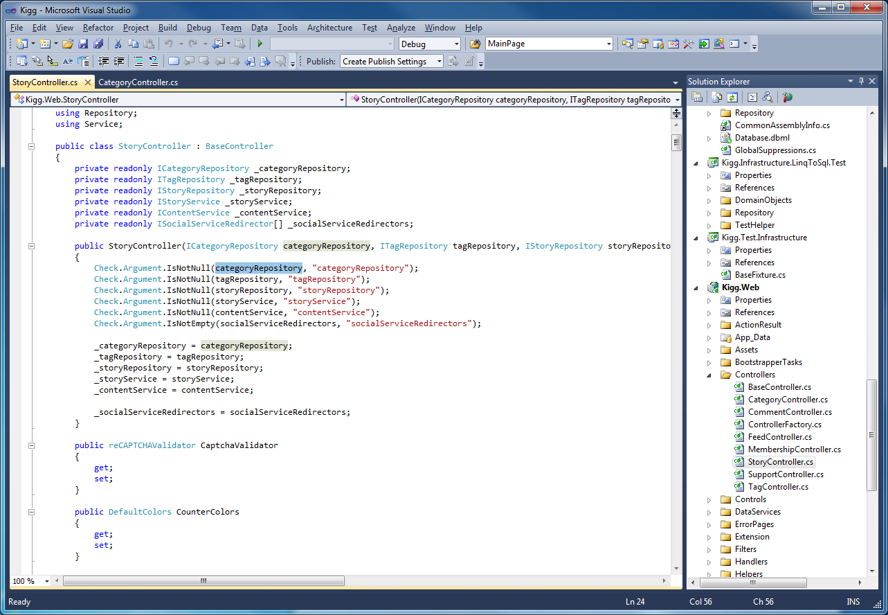 Visual Studio 2010 C++ coding